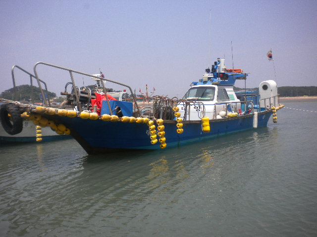 우리 마을 선상낚시 체험이 가능한 배 중 하나인 '태양호'